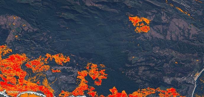 Sentinel-2 image on 2017-07-03